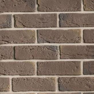 Плитка бетонна Einhorn під декоративний камінь клінкер-111 64x205x15 мм