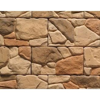 Плитка бетонная Einhorn под декоративный камень Мезмай-1051 140х250х30 мм