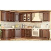 Кухня Мебель-Сервис Жасмин 2,0 м без столешницы коричневая