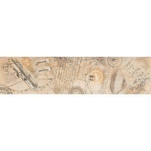 Бордюр Inter Cerama WOODLINE 15x60 см бежевый