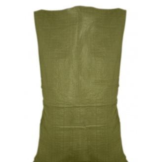 Мешок полипропиленовый зеленый 55х105 см 50 кг