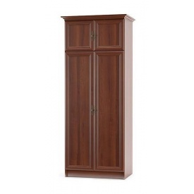 Шкаф Мебель-Сервис Барон 800х2120х520 мм орех