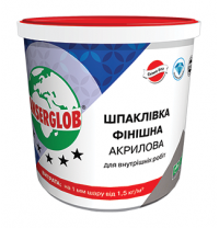 Шпаклевка Anserglob акриловая 17 кг