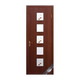 Двери межкомнатные Новый Стиль КВАДРА Р Фора №2 600х2000 мм орех