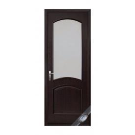 Двері міжкімнатні Новий Стиль ІНТЕРА DeLuxe Аве 600х2000 мм венге