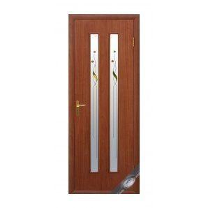 Двері міжкімнатні Новий Стиль КВАДРА Р Віра 600х2000 мм вільха