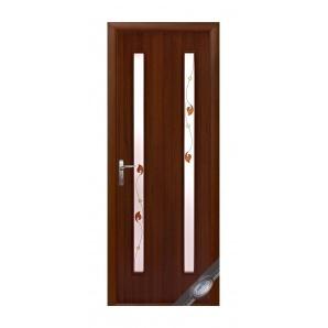 Двері міжкімнатні Новий Стиль КВАДРА Р Віра 600х2000 мм горіх