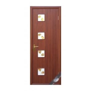 Двері міжкімнатні Новий Стиль КВАДРА Р Модена 600х2000 мм вишня