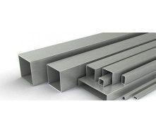 Труба алюминиевая Saray прямоугольная 40x50x1,2 мм