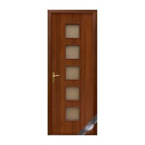 Двері міжкімнатні Новий Стиль КВАДРА Фора 600х2000 мм горіх
