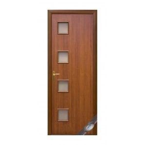 Двері міжкімнатні Новий Стиль КВАДРА Модена 600х2000 мм горіх