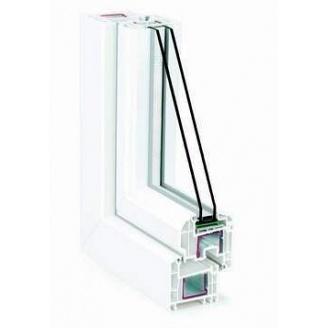 Металлопластиковое окно из профиля системы REHAU-Brillant-Design 70 мм