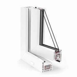 Металлопластиковое окно из профиля системы REHAU-Euro 70-Design 70 мм