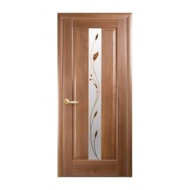 Двері міжкімнатні Новий Стиль МАЕСТРА Р Прем'єра 600х2000 мм золота вільха