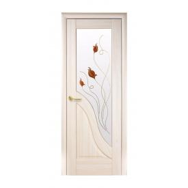 Двері міжкімнатні Новий Стиль МАЕСТРА Р Амата 600х2000 мм ясен