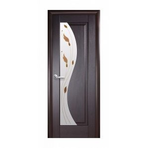 Двері міжкімнатні Новий Стиль МАЕСТРА Р Ескада 600х2000 мм венге