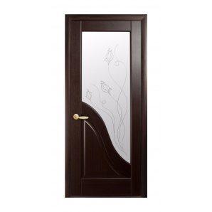 Двері міжкімнатні Новий Стиль МАЕСТРА Р Амата Р2 600х2000 мм венге