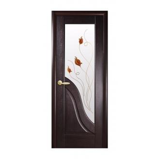 Двери межкомнатные Новый Стиль МАЭСТРА Р Амата 600х2000 мм венге