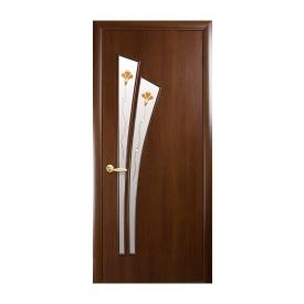 Двери межкомнатные Новый Стиль МОДЕРН Р Лилия 600х2000 мм орех
