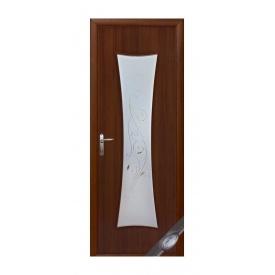 Двери межкомнатные Новый Стиль МОДЕРН Р Часы 600х2000 мм орех