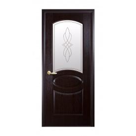 Двери межкомнатные Новый Стиль ФОРТИС DeLuxe Р R 600х2000 мм венге