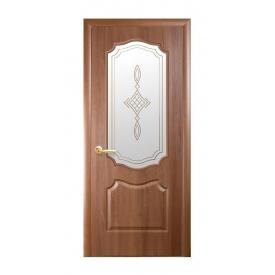 Двери межкомнатные Новый Стиль ФОРТИС DeLuxe Р V 600х2000 мм золотая ольха