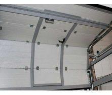 Промислові секційні ворота DoorHan серії ISD01 6000х6000х40 мм білі (RAL9010)