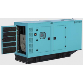 Дизельный генератор 88 кВА с двигателем PERKINS в шумозащитном кожухе ETT-88P