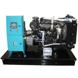 Дизельный генератор 88 кВА с двигателем PERKINS в открытом исполнении с АВР ETT-88P