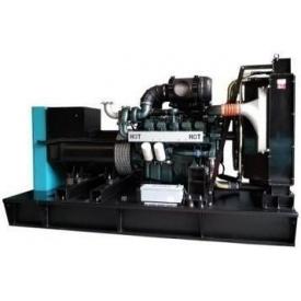 Дизельный генератор 430 кВА с двигателем DOOSAN в открытом исполнении ETT-430D