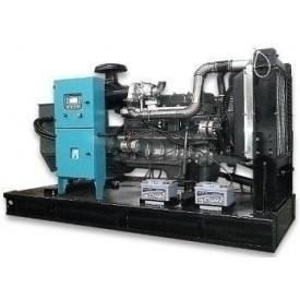 Дизельный генератор 350 кВА с двигателем RICARDO в открытом исполнении с АВР ETT-350E