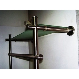 Вішалка Тріумф Захід з нержавіючої сталі з елементами скла