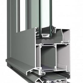 Изготовление входных дверей из алюминиевого профиля Reynaers CS 86 HI