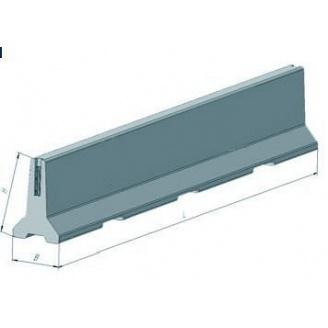 Дорожній відбійник залізобетоннийСтройдеталь ІБ-1 630х950х5000 мм