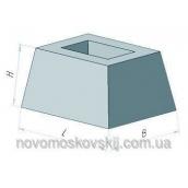 Стакан під залізобетонний паркан Стройдеталь ФС-1 530х770х1000 мм
