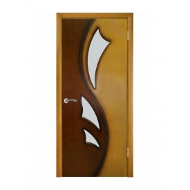Межкомнатные шпонированные двери Лилия ПО ПГ Омис 2000х600 мм