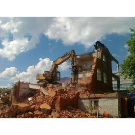 Демонтаж цегляного будинку