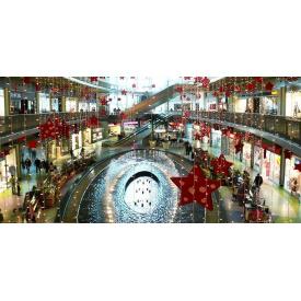 Новорічне оформлення торгового центру