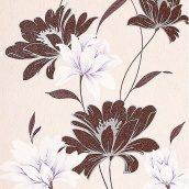 Шпалери вінілові Versailles на паперовій основі 0,53х10,05 м коричневий (168-33)