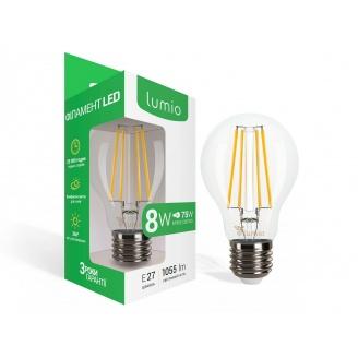 Лампа LED филамент 8W 1055 lm E27 A60 мягкий свет
