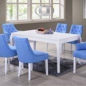 Стол нераскладной Domini Тиффани 1600x900x755 мм белый