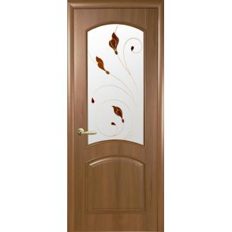 Двери межкомнатные Новый Стиль ИНТЕРА Антре Р4 2000х34 мм Золотая ольха