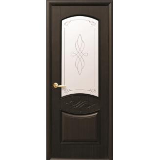 Двери межкомнатные Новый Стиль ИНТЕРА Донна Р1 2000х34 мм Венге