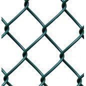 Сетка-рабица с ПВХ покрытием 2,7х50х50 мм 1,2х10 м зеленая