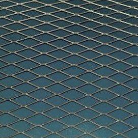 Сетка просечно-вытяжная 0,5x25x60 мм 1 м оцинкованая