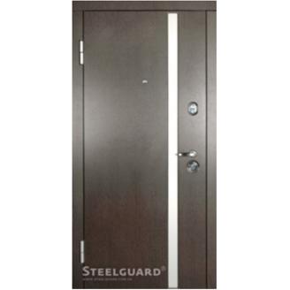 Двери входные Steelguard MAXIMA АV-1 117 880х2050 мм Венге темный