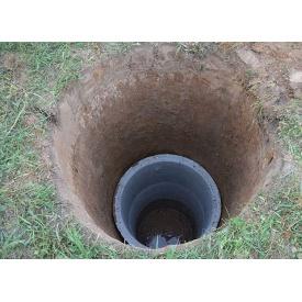 Установка канализационных колец