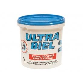 Краска Sniezka ULTRA BIEL 1 л 1,4 кг