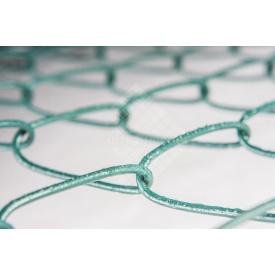 Сетка-рабица с ПВХ покрытием 2,5х30х30 мм 1,2х10 м зеленая