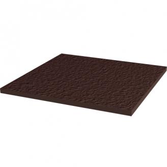 Напольная клинкерная базовая плитка Paradyz Natural BROWN DURO 30x30 см
